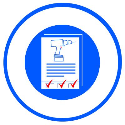 Full Service Icoon Machinekeuring