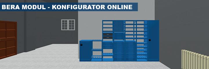 Konfigurator regałów Bera Modul