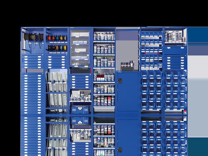 Snadná správa zásob pomocí regálového systému Bera Modul