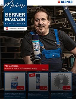 Mein BERNER Magazin Bau Sommer