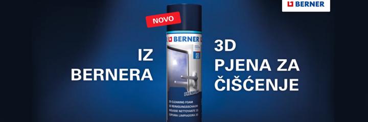 3D Pjena za čišćenje