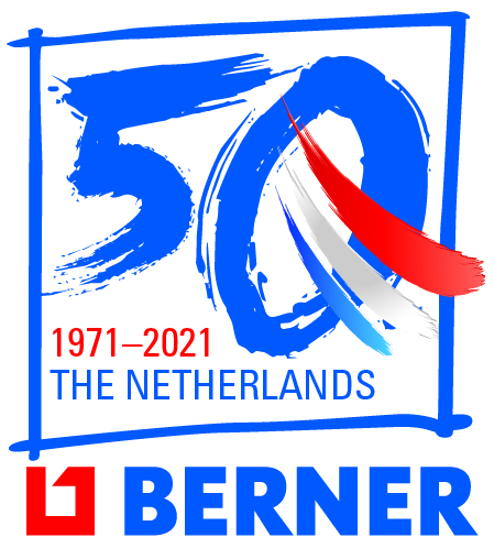 Logo Berner Nederland 50 jaar
