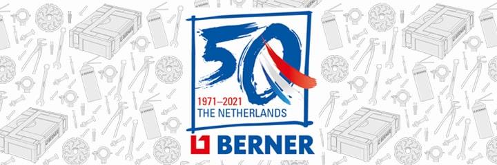 Berner Nederland 50 jaar!