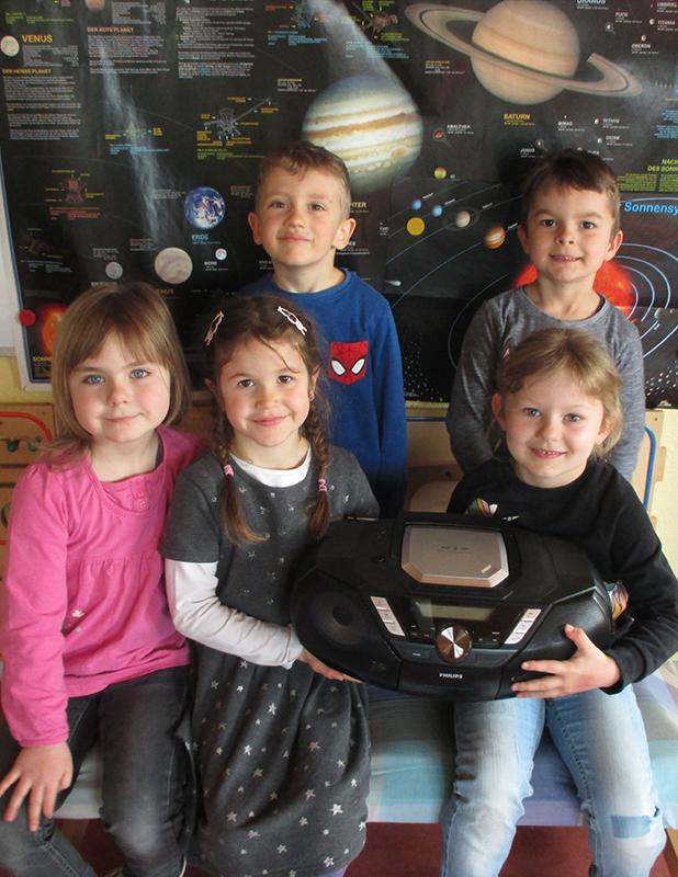 Berner bringt Musik in den Kindergarten