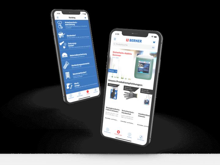 Gyors és kényelmes rendelés a Berner App segítségével