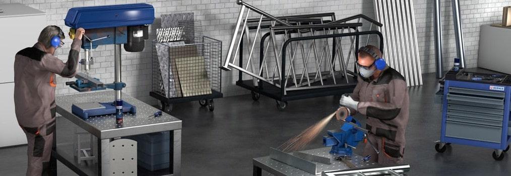 Effiziente Metallverarbeitung & Endreinigung – für ein perfektes und glänzendes Finish!