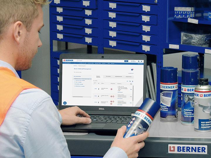 Sicherheit mit der Berner Chemie Datenbank