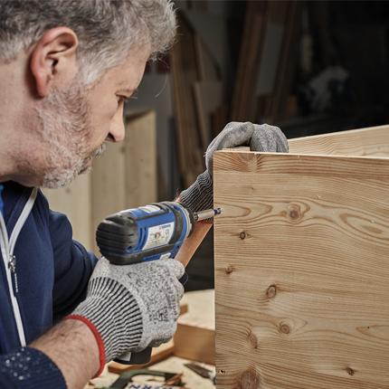 Berner lance, sur le marché, une nouvelle vis à bois, l'EASYfast Wave plus !